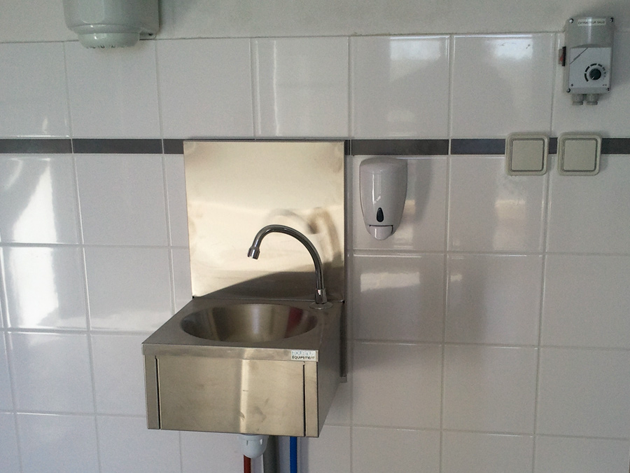 lave mains cuisine