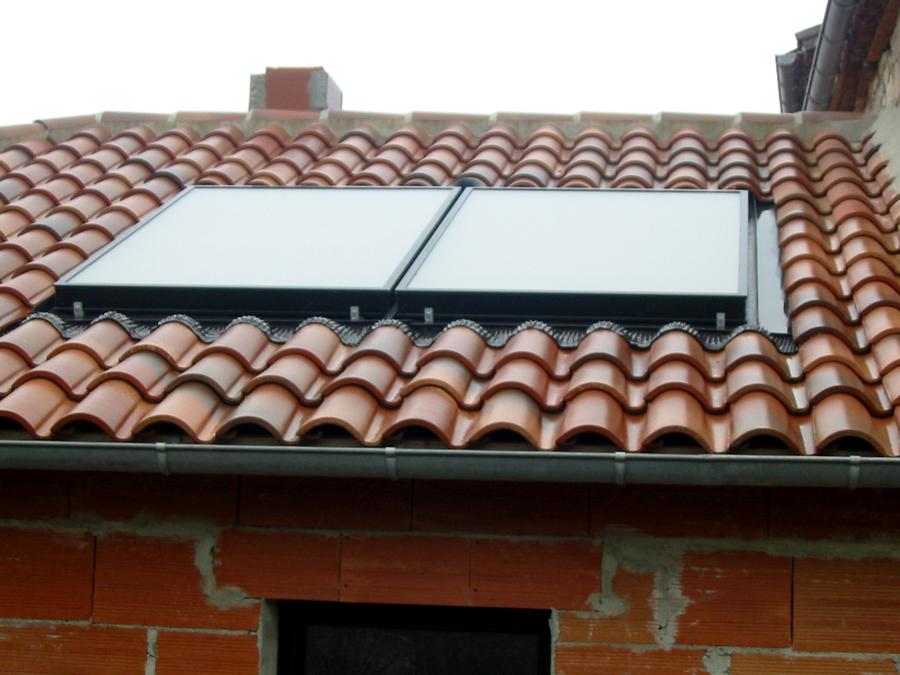 panneau solaire encastré